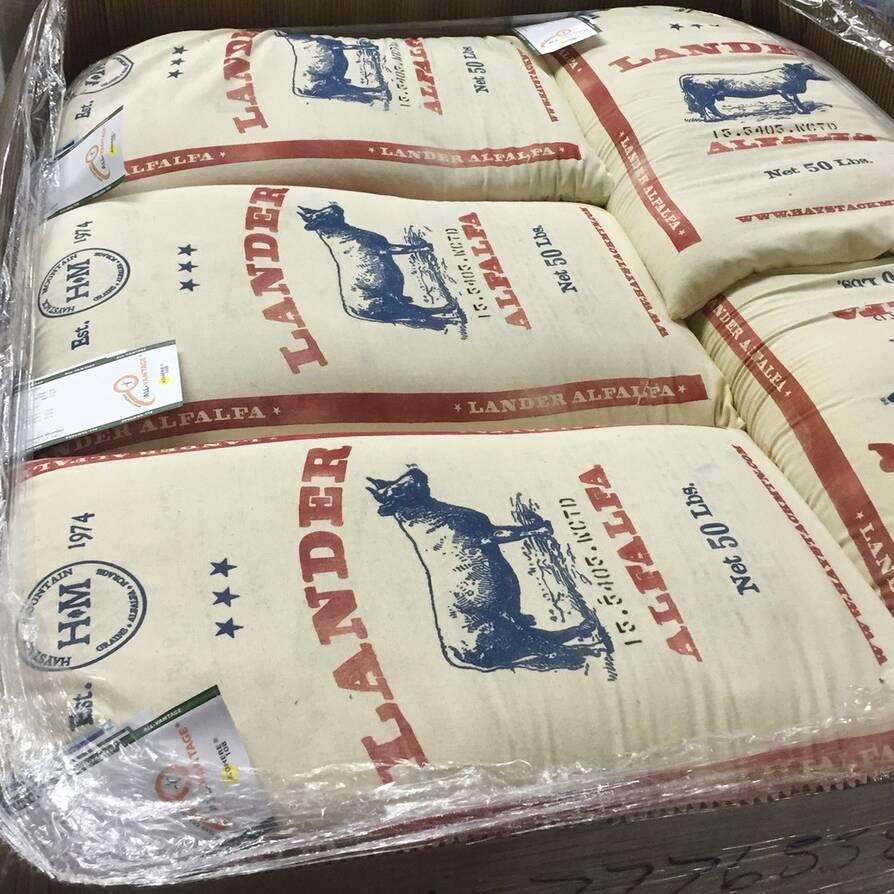 Lander Alfalfa Cotton Sacks
