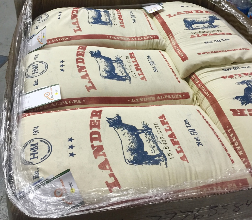 Lander Alfalfa Cotton Sacks