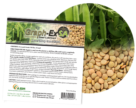 Graph-Ex SA™ for cover crops
