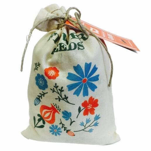 flower seed bag